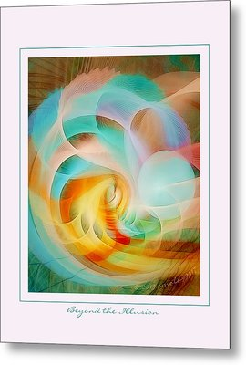 Beyond The Illusion Metal Print by Gayle Odsather