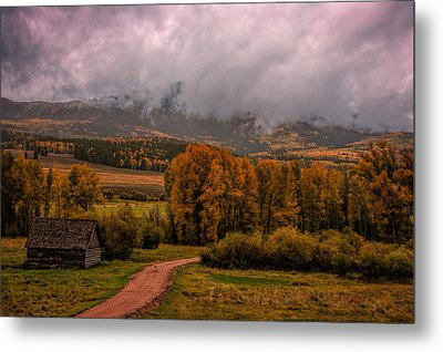 Metal Print featuring the photograph Beyond The Road by Ken Smith