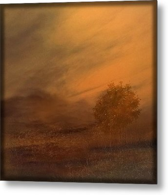 Beyond The Rowan Tree Metal Print by Liz  Alderdice