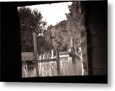 Beyond The Stable Metal Print by Loriental Photography