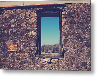 Beyond These Walls Metal Print