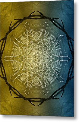 Beyond Time Metal Print by Tom Druin