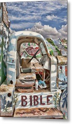 Bible Truck Metal Print by Hugh Smith