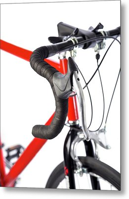 Bicycle Handlebars Metal Print