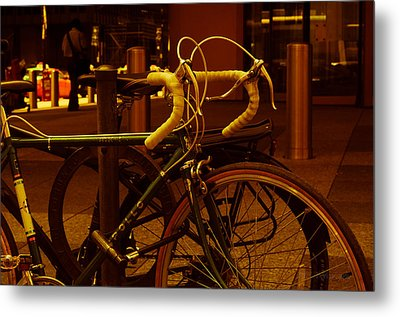 Bicyclette Metal Print by BandC  Photography