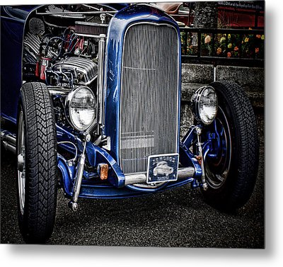 Big Bad Ford Metal Print by Ron Roberts
