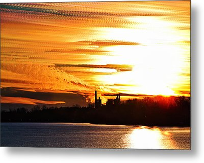 Big Ball Of Fire Metal Print by Matt Molloy