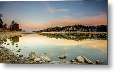 Metal Print featuring the photograph Big Bear Lake by Robert  Aycock