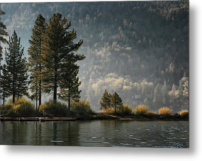 Big Bear Lake Scenic Metal Print by Sharon Beth