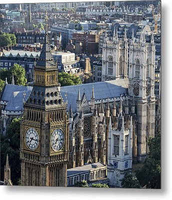 Big Ben And Westminster Metal Print