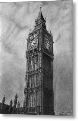Big Ben London Metal Print