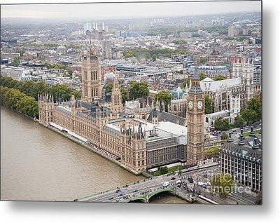 Big Ben Westminster Metal Print by Donald Davis