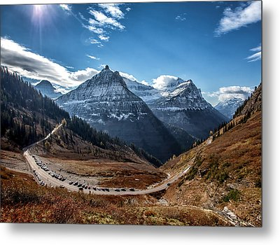 Metal Print featuring the photograph Big Bend by Aaron Aldrich