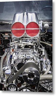 Big Big Block V8 Motor Metal Print