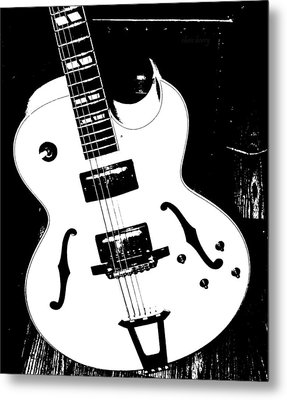 Big Ol Gibson Metal Print by Chris Berry