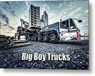 Big Boy Trucks Metal Print