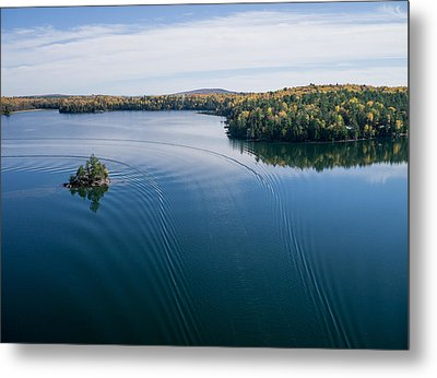 Big Cedar Lake. Quebec Metal Print by Rob Huntley