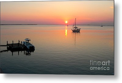 Big Chill Sunset Metal Print by Carey Chen