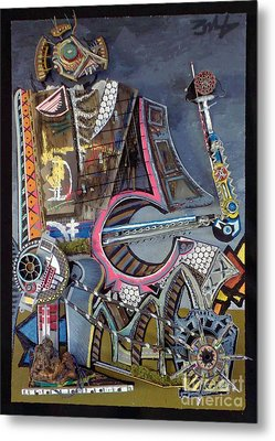 Big Dirty D Metal Print