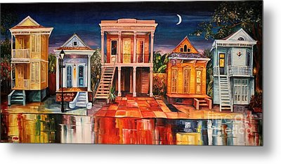Big Easy Night Metal Print by Diane Millsap