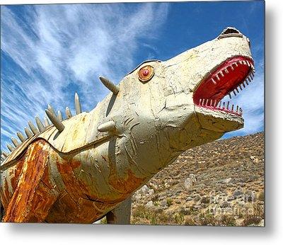 Big Fake Dinosaur - 02 Metal Print by Gregory Dyer