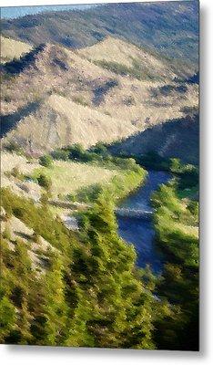 Big Hole River Divide Mt Metal Print by Kevin Bone