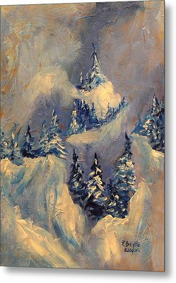 Big Horn Peak Metal Print