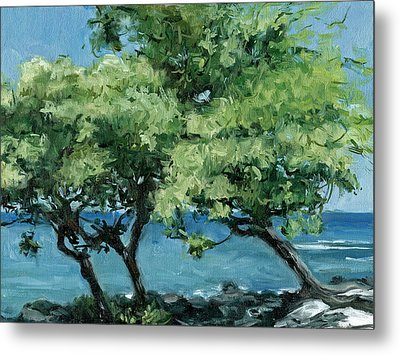 Big Island Trees Metal Print by Stacy Vosberg