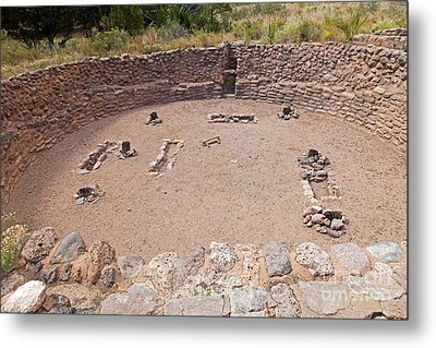 Big Kiva Bandelier National Monument Metal Print