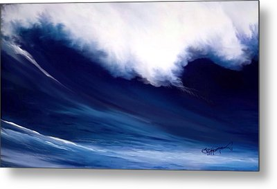 Metal Print featuring the digital art Big Kahuna 2 by Anthony Fishburne