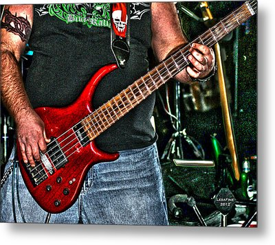 Metal Print featuring the photograph Big Red Tobias by Lesa Fine