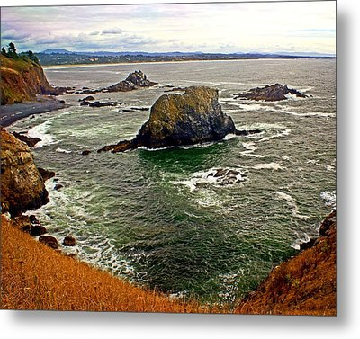 Big Rock Beach Metal Print by Marty Koch
