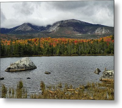 Metal Print featuring the photograph Big Rock by Gene Cyr