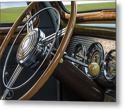 Big As A Buick Metal Print