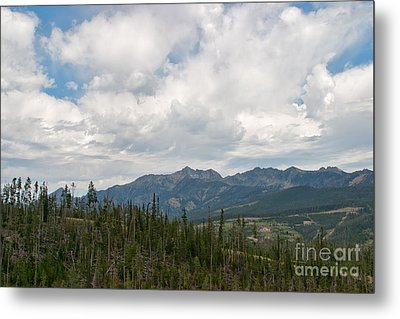 Metal Print featuring the photograph Big Sky Cloudscape by Charles Kozierok