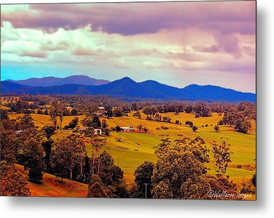 Metal Print featuring the photograph Big Sky Country by Wallaroo Images