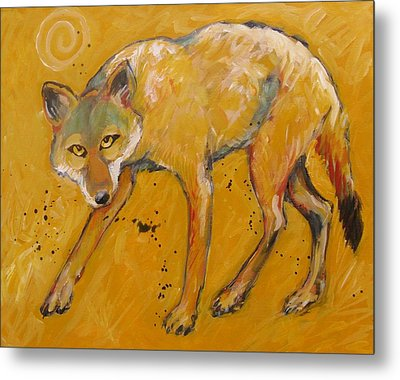 Big Sky Coyote Metal Print