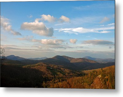 Big Sky In Cashiers Metal Print by Allen Carroll