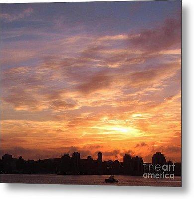 Big Sky Over Halifax Harbour Metal Print by John Malone