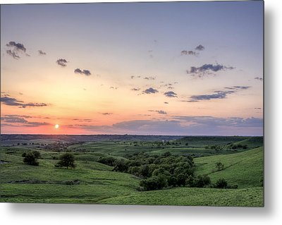 Big Sky Metal Print by Scott Bean