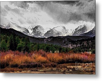 Big Storm Metal Print by Jon Burch Photography