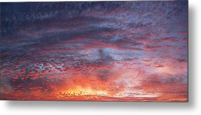 Big Sunset  Metal Print by Derek Dean