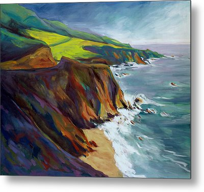 Big Sur 1 Metal Print