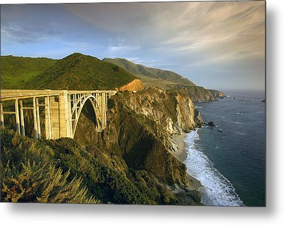 Big Sur Metal Print by Christian Heeb
