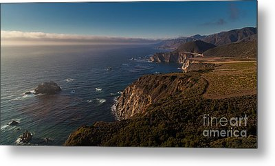 Big Sur Headlands Metal Print by Mike Reid