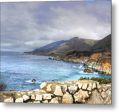 Metal Print featuring the photograph Big Sur by Kandy Hurley
