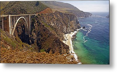 Metal Print featuring the photograph Big Sur by Rod Jones