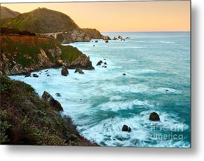 Big Sur Sunrise Metal Print by Jamie Pham