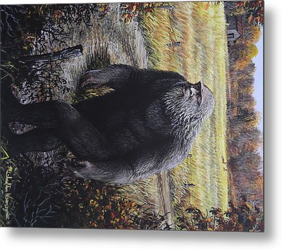 Bigfoot Wooly Booger Metal Print