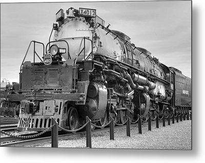 Biggest Badest Steam Locomotive Ever Metal Print